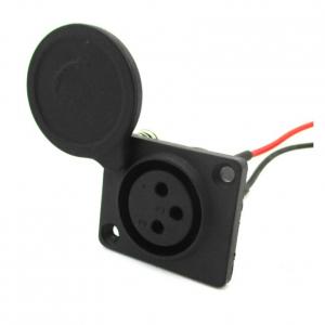 Elektritõukeratta XLR laadija pesa